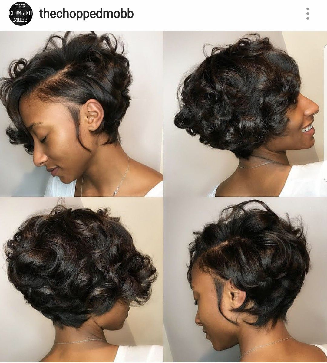 Pin On Short Relaxed Hair Cuts
