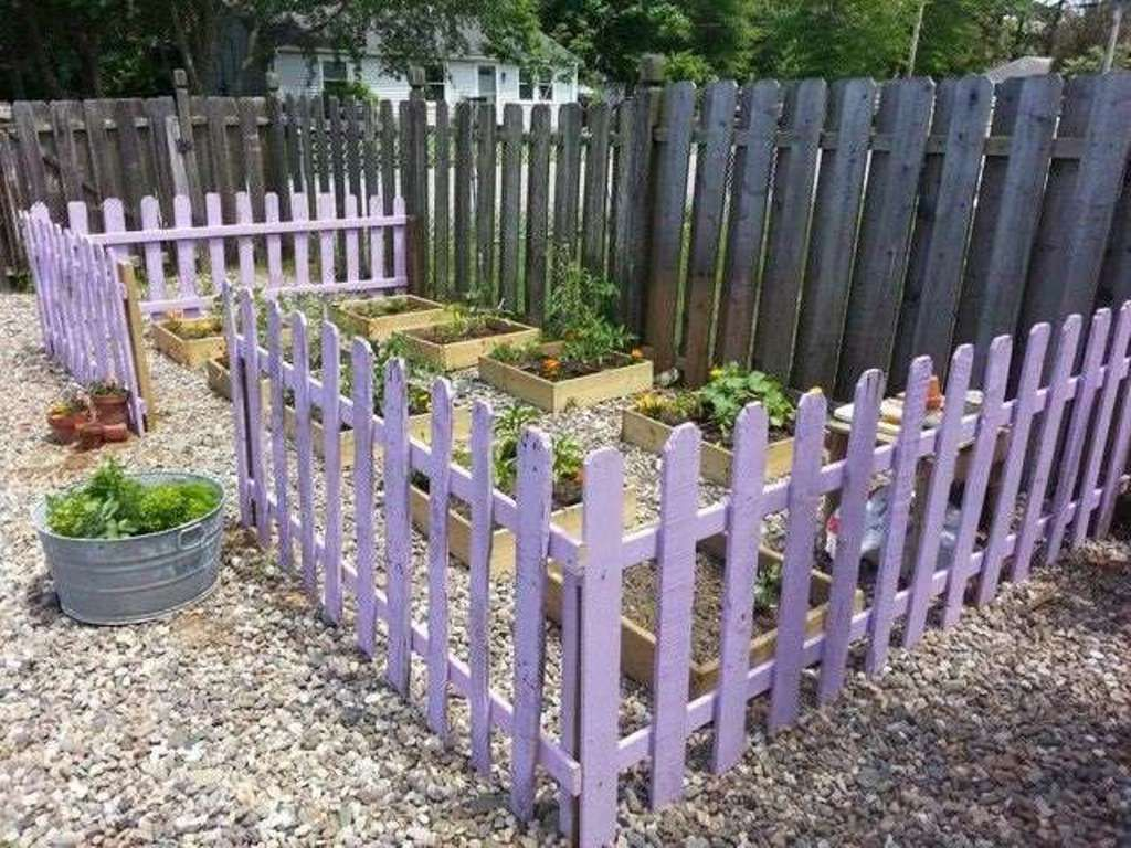 How to build pallet fence diy pallet crafts in pinterest