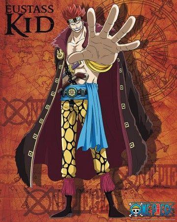Poster affiche One Piece Eustass Kid