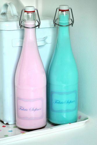 Fabric Softener Bottles Softener Bottle Laundry Soap Homemade