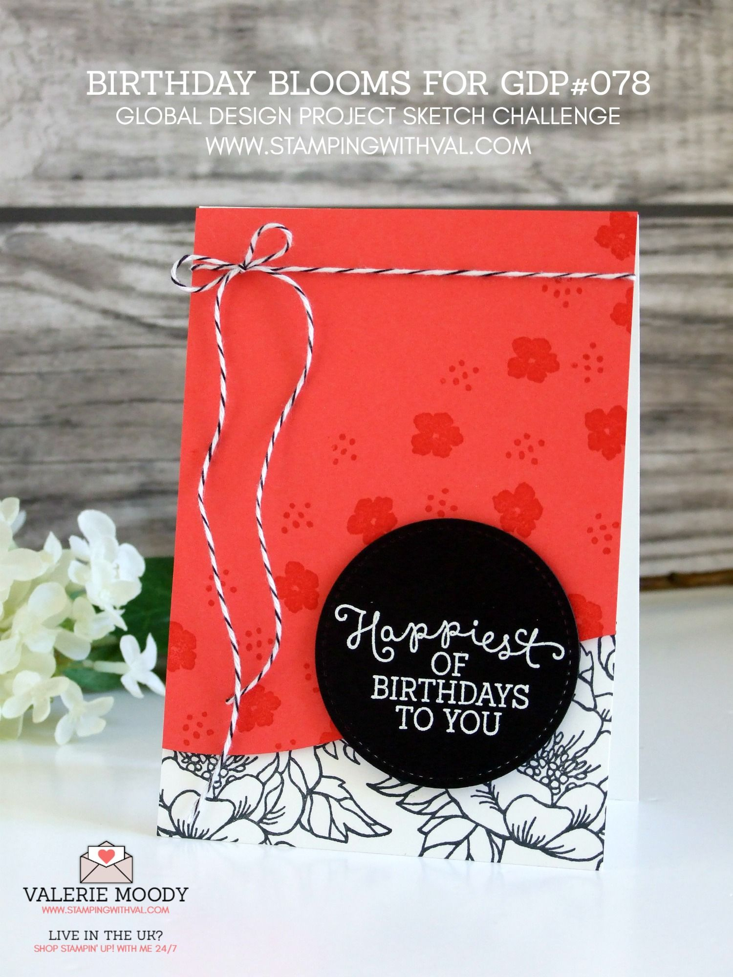 Stampin Up Uk Cards Tutorials Ideas From Stamping With Val