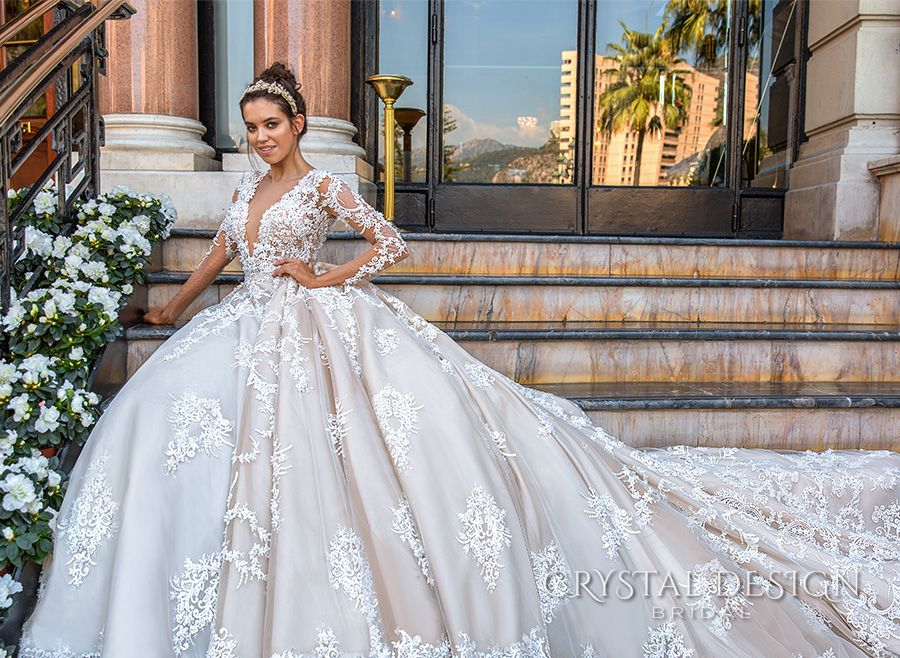 Couture Wedding Gowns: Crystal Design Haute & Sevilla Couture Wedding Dresses