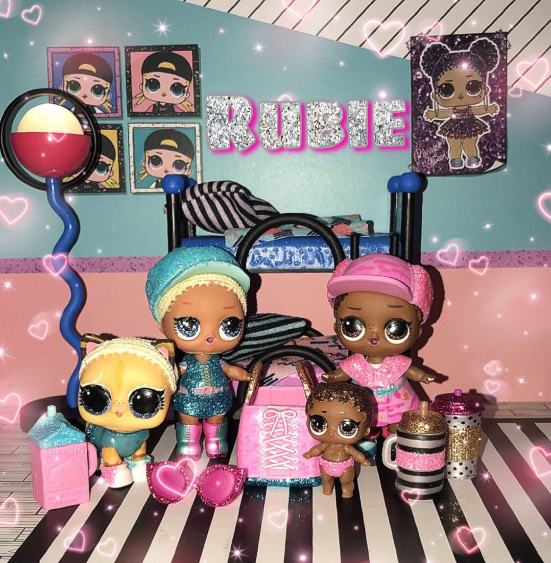 with Bag LOL Surprise Lil Sisters dolls eye spy baby goo-goo doll Color Change
