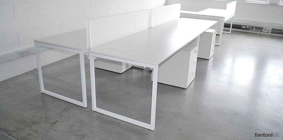 Merveilleux Framework 2.0   1 Person White Desk