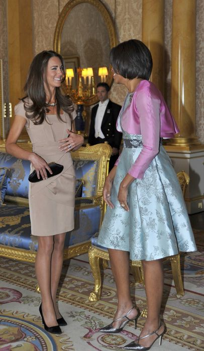 duchess of cambridge with first lady michelle obama