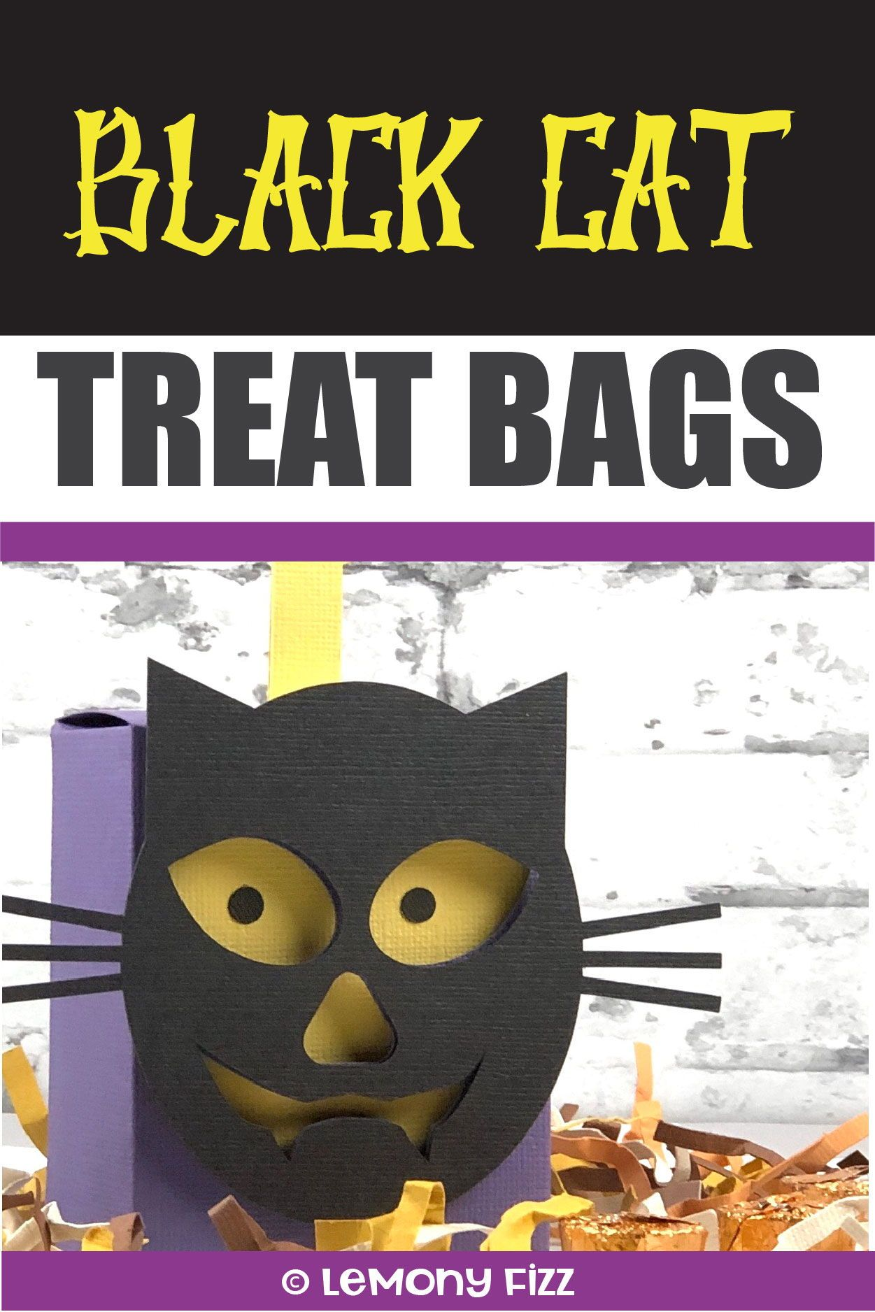 It's a Group of Spooky Halloween Treat Bags Halloween