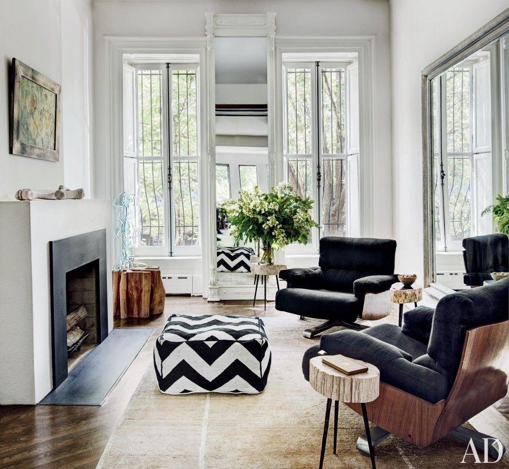 Modern Living Room and Robin Elmslie Osler in Brooklyn, NY   02 Neo ...