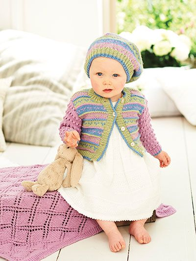 Knit - Rei Cole Baby Book 7 - # 708803 (With images ...