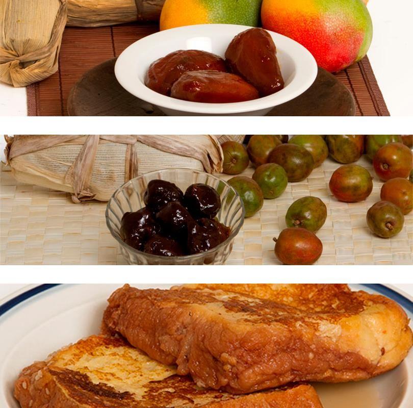 Comida de semana santa en el salvador mango jocotes en for Comida semana santa