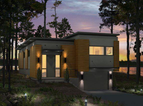 Les Maisons Bonneville - Cameleon | Plans maisons | Pinterest ...