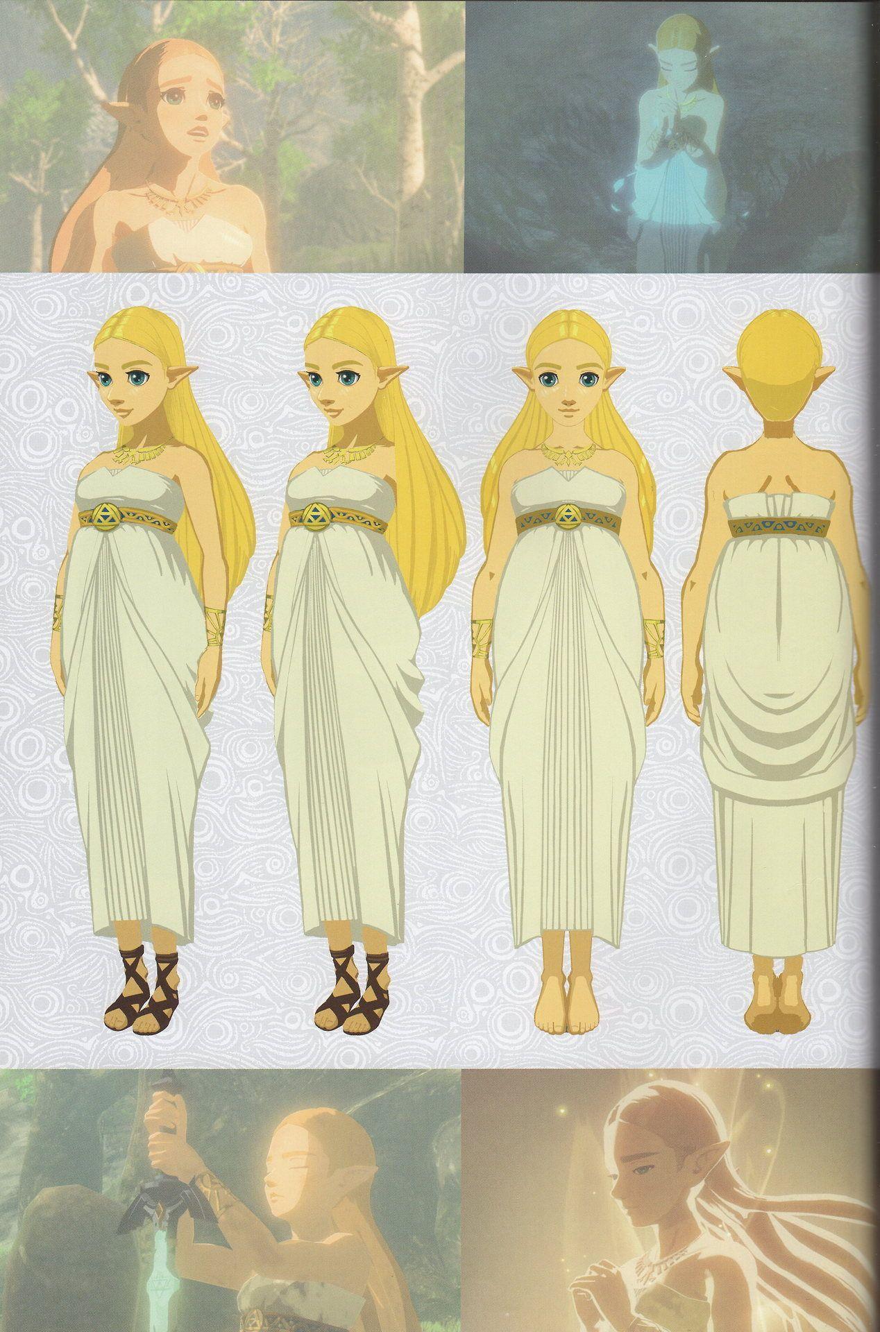 14+ Botw zelda white dress ideas