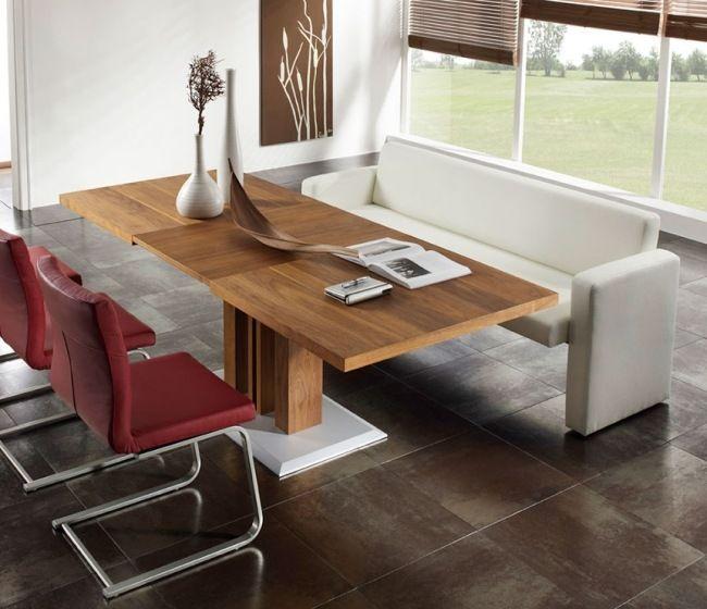 Esszimmer Mit Bank Einrichten Und Mehr Sitzplätze Am Tisch Schaffen