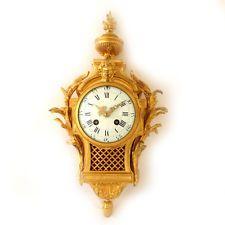 de0a0d3f2f69 Редкая французская антикварная Самуил Марти бронзовую яркие настенные часы