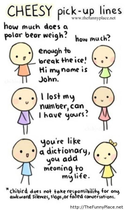 Cheesy pick up lines for numbers