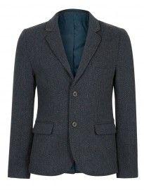 Topman Bellfield Tweed Blazer