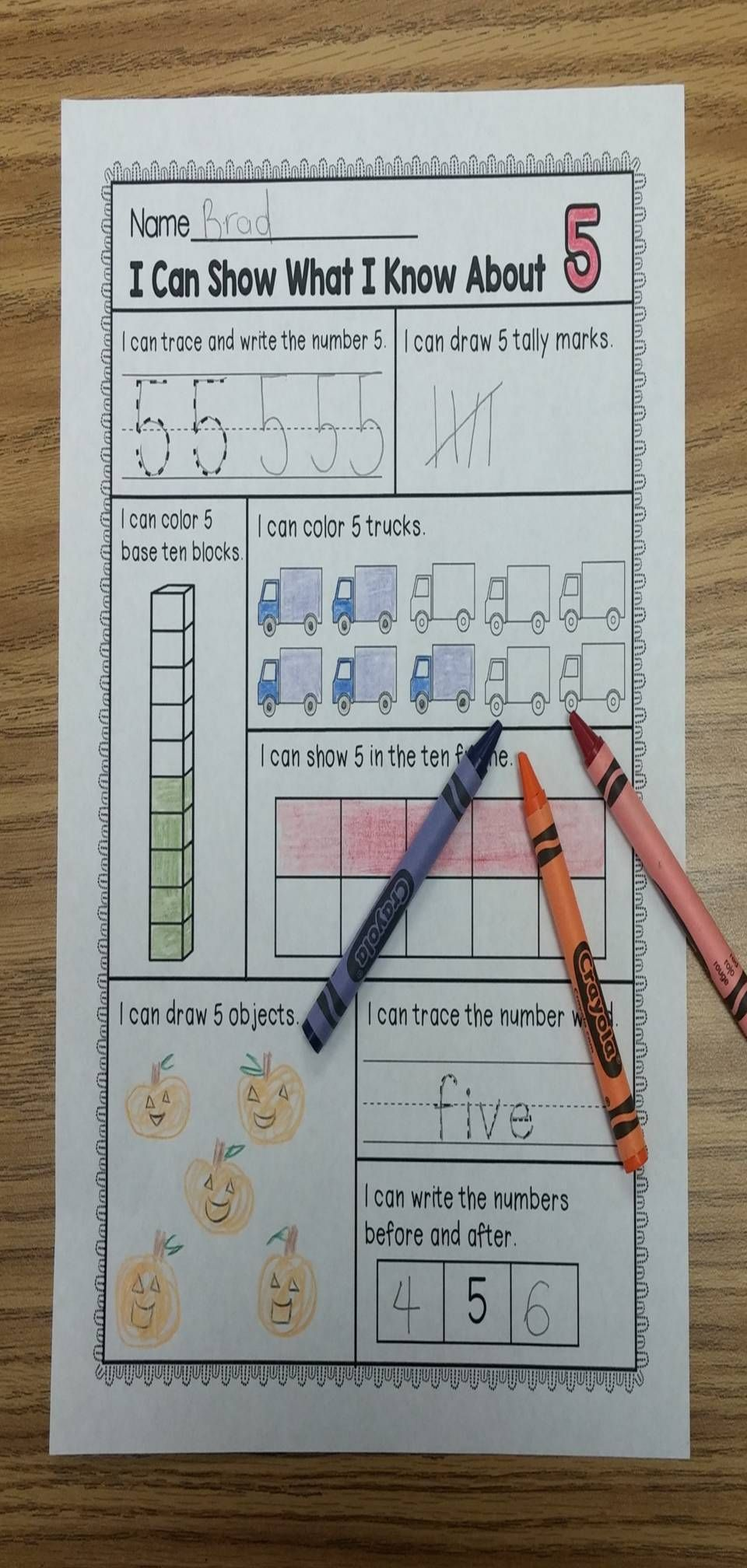 Numbers 1-10 | Math, Base ten blocks and Tally marks