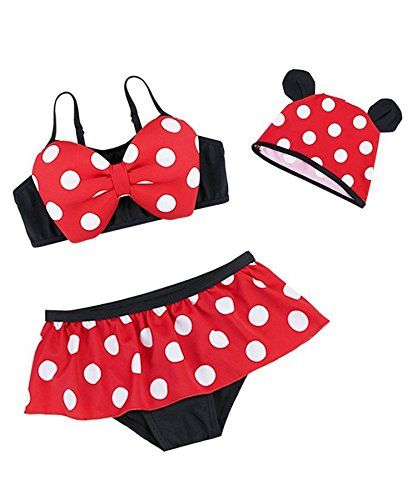 8f8cbfb012 Ru Sweet Kids Cute Bikni Two Pieces Swimsuit and caps for Girls     Be sure  to check out this awesome product.