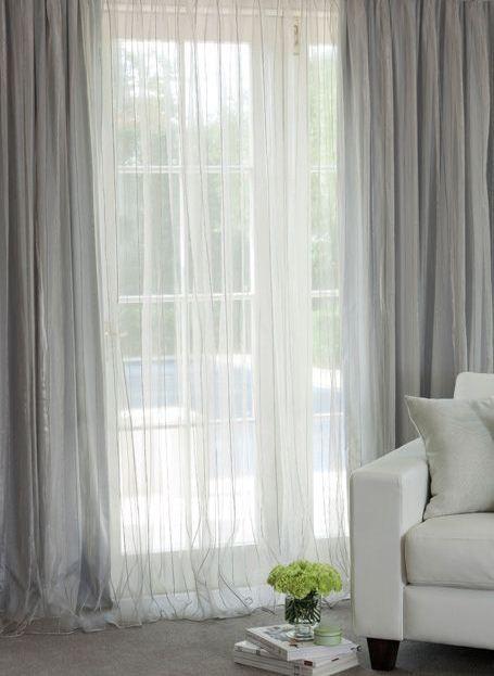 perdele-material-fin Perdele Pinterest - vorhänge für wohnzimmer