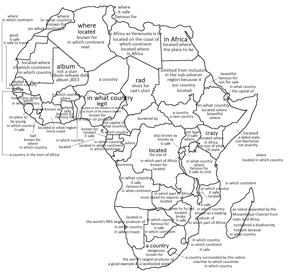 Map Of Africa Coloring Page.South Africa Map Coloring Page Map Of Africa Colouring Pages Page