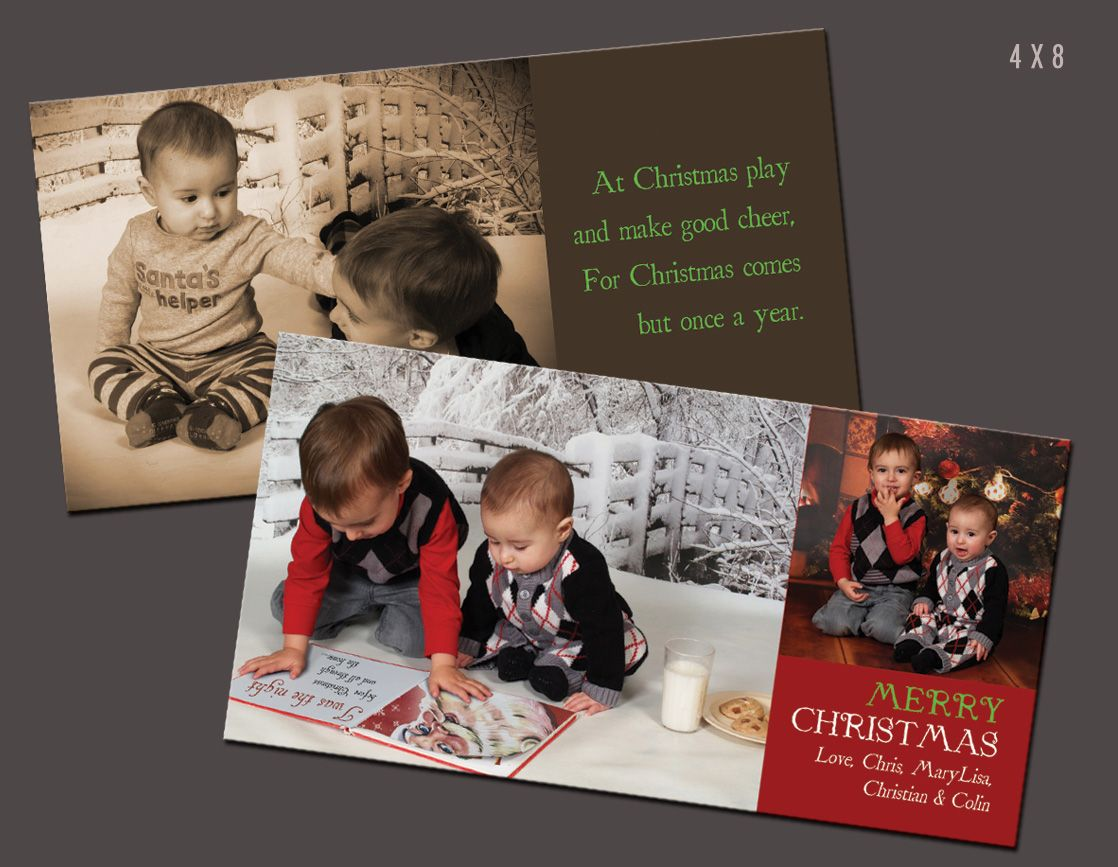 Double sided holiday card backside being a nice keepsake photo double sided holiday card backside being a nice keepsake photo for when the kristyandbryce Gallery