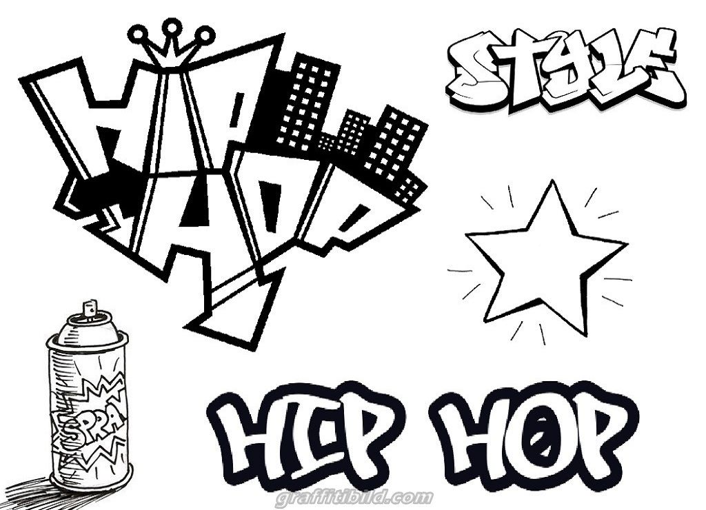 Graffiti Ausmalbilder Hip Hop Graffiti Ausmalbilder Ausmalbilder Zum Ausdrucken
