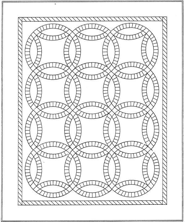Wedding Ring Quilt Color Page Wedding Ring Quilt Coloring Pages To Print Coloring Pages