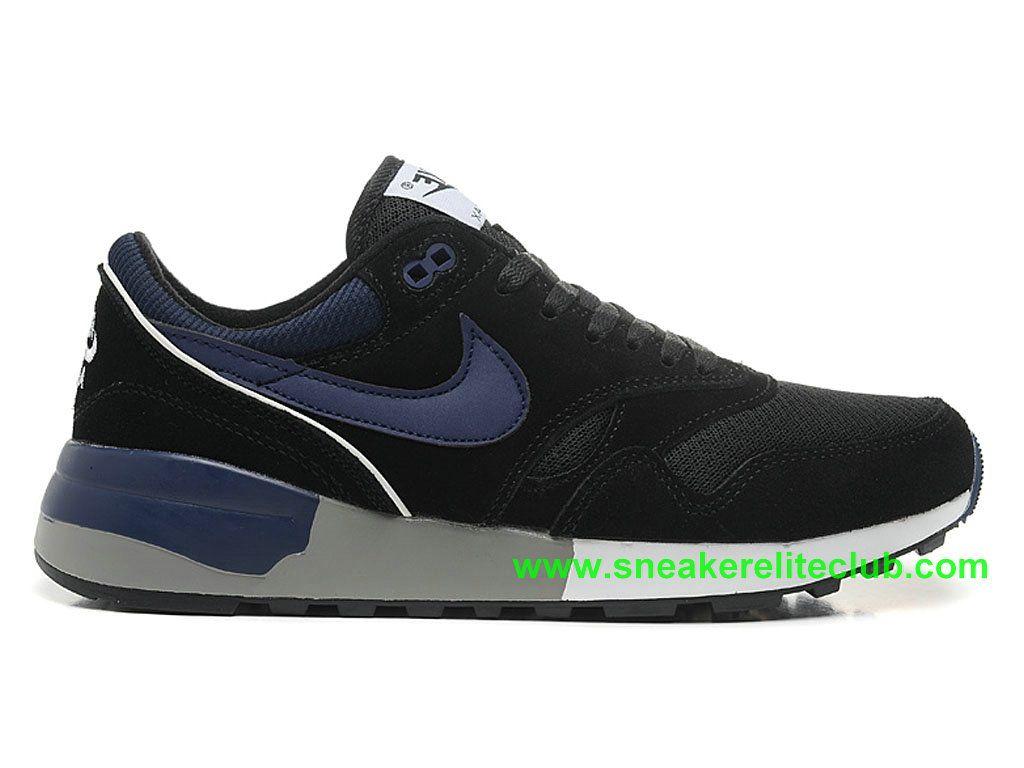 Nike Air Odyssey Chaussure De Course Pas Cher Pour Homme Noir Bleu  652989-ID7-