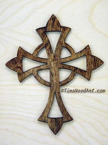 Celtic Cross, Handmade Wood Cross, for Wall Hanging or Ornament ...