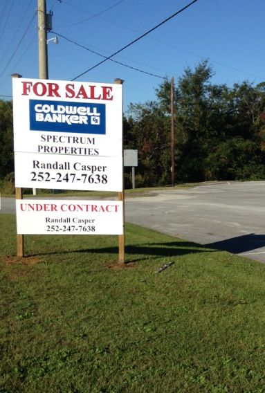 Under Contract 5496 US HWY 70, Morehead City, NC 28557 Listed - land sales contracts