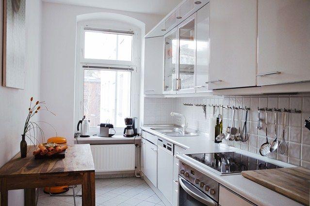 Walnut and White - Kitchen Designs - Shabby Chic & Wallpaper Ideas ...