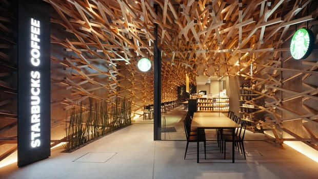 An Ultra-Cool Japanese Starbucks Leaves The Seattle Vibe Far Behind