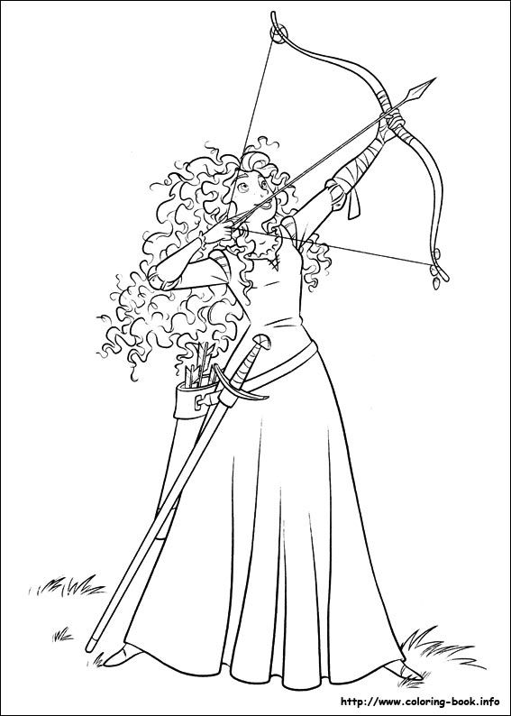 Brave colouring pages find here free printable brave coloring pages for kids