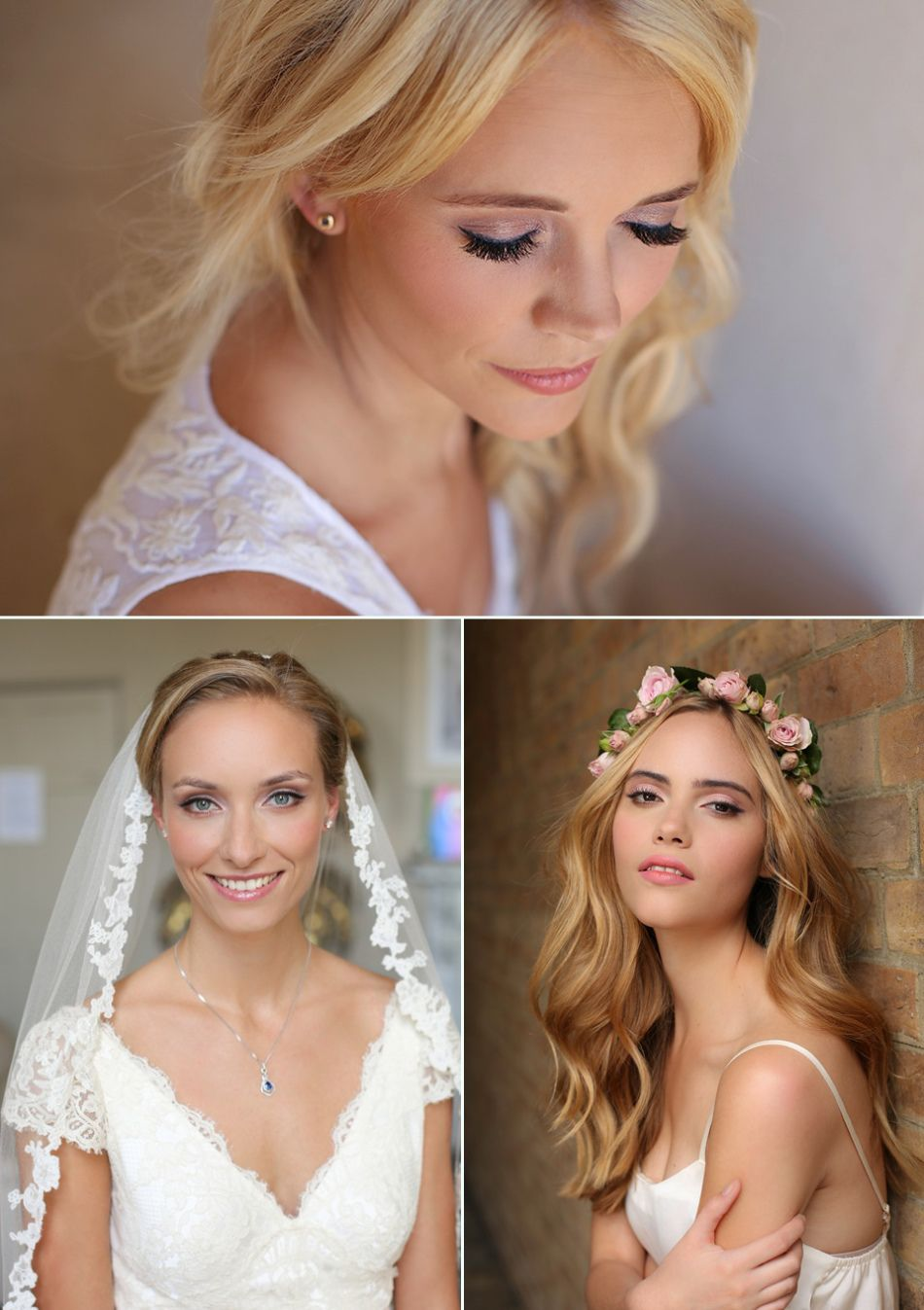 beautiful and elegant bridal hair & make-up from kristina gasperas