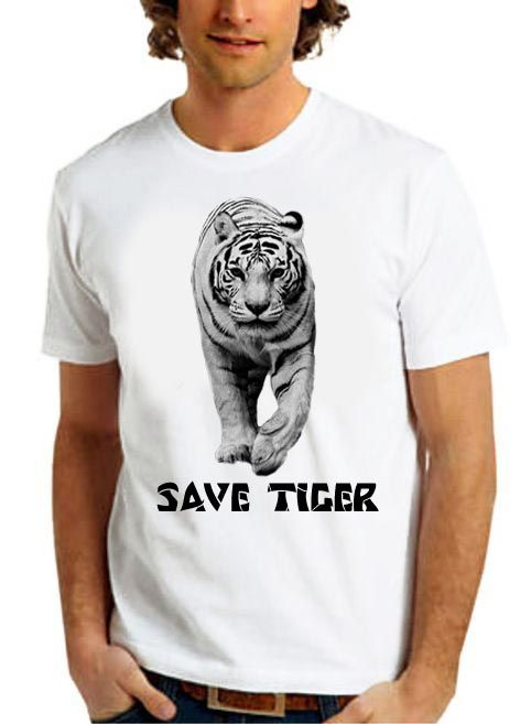 Save Tiger , Save The Endangered Species .  Courtesy : 7color.eu