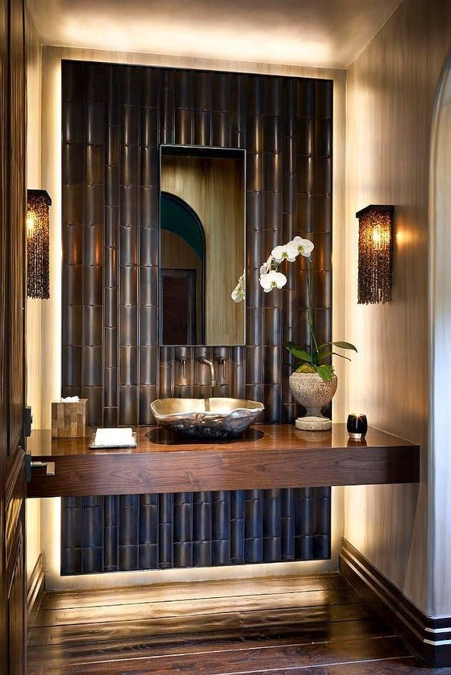 Bamboo Bathroom Bathroom BathroomDesign Interior Folding Dining