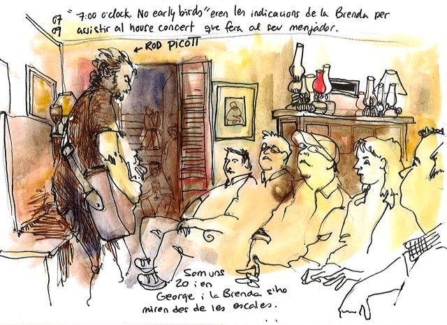 """Rod Picott, """"private"""" concert by Cristina Curto"""