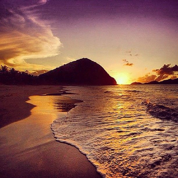Best Places For Cheap Holiday: Long Bay #tortola #sunset #bvi #travel #caribbean #beach