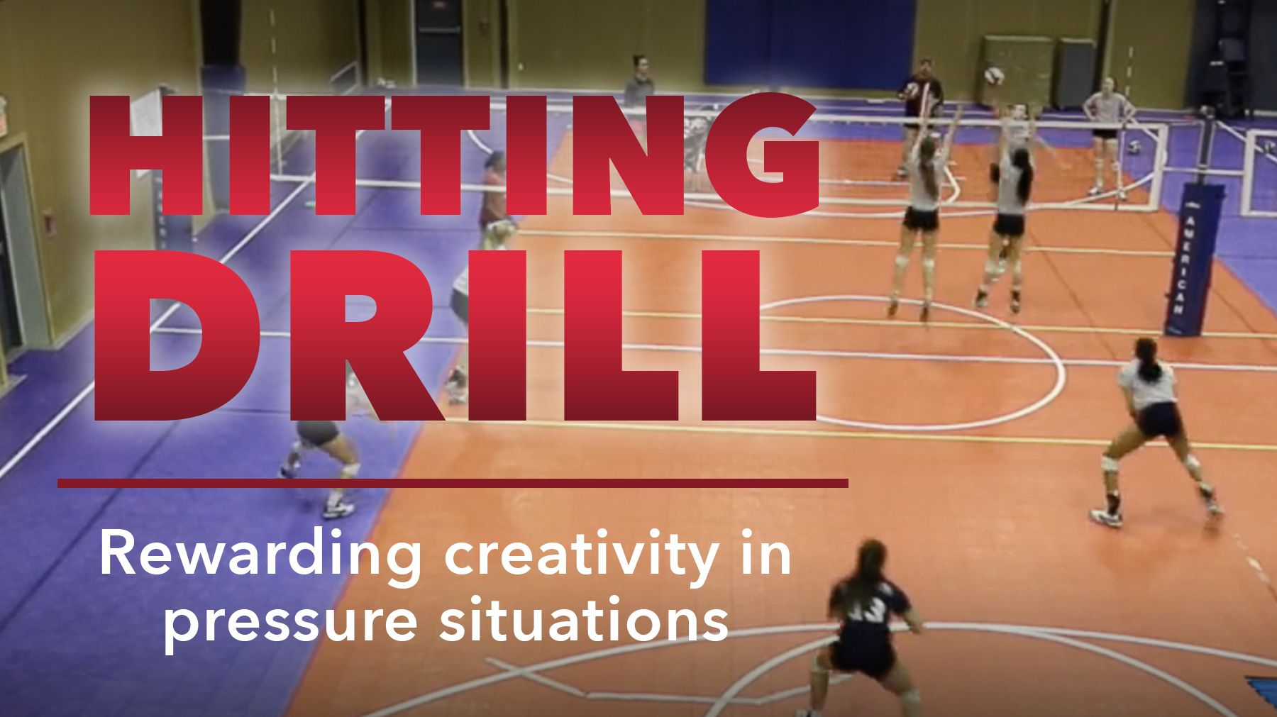 Hitting Drill That Rewards Creativity In Pressure Situations The Art Of Coaching Volleyball Coaching Volleyball Volleyball Drills Volleyball Skills