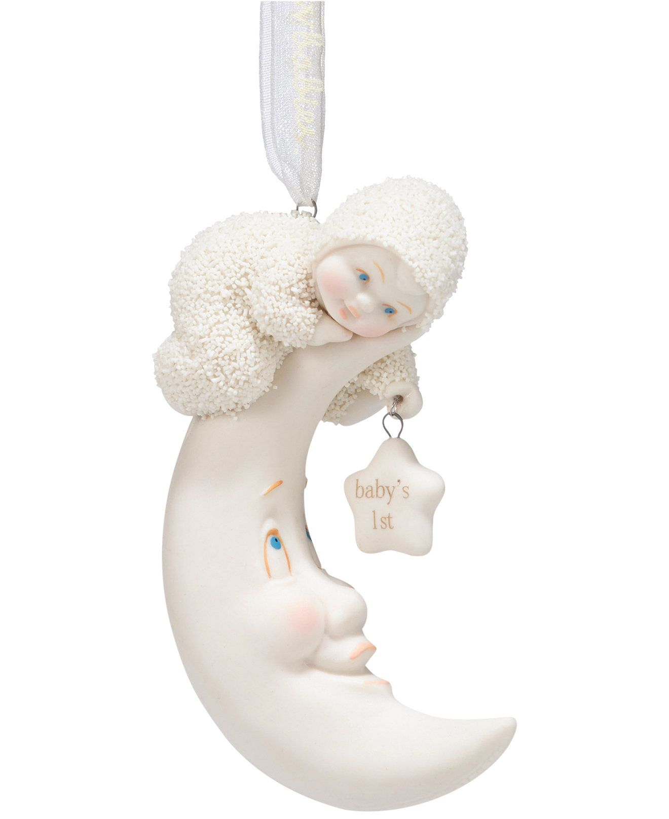 Department 56 snowbabies ornaments - Department 56 Snowbabies Baby S First Ornament Christmas Ornaments Holiday Lane Macy S