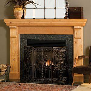 Lancaster Mantel - Traditional Wood - Fireplace Mantel Surrounds ...