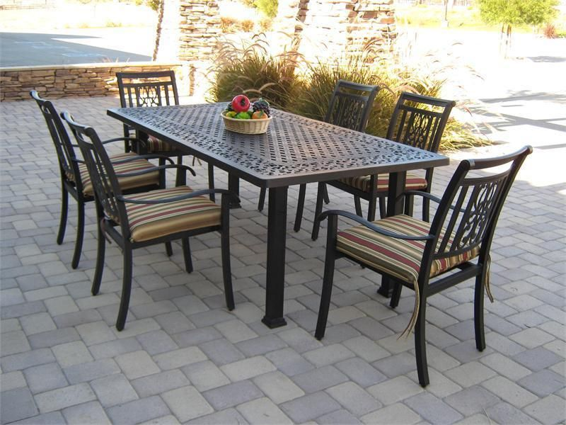 Patio Table And Chairs With Functionality And Comfort Darbylanefurniture Com In 2020 Patio Dining Furniture Patio Dining Table Patio Furniture Dining Set