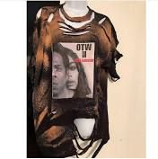844a55b7592 On the run tour distressed beyonce tshirt dress  On the Way to RedLobster