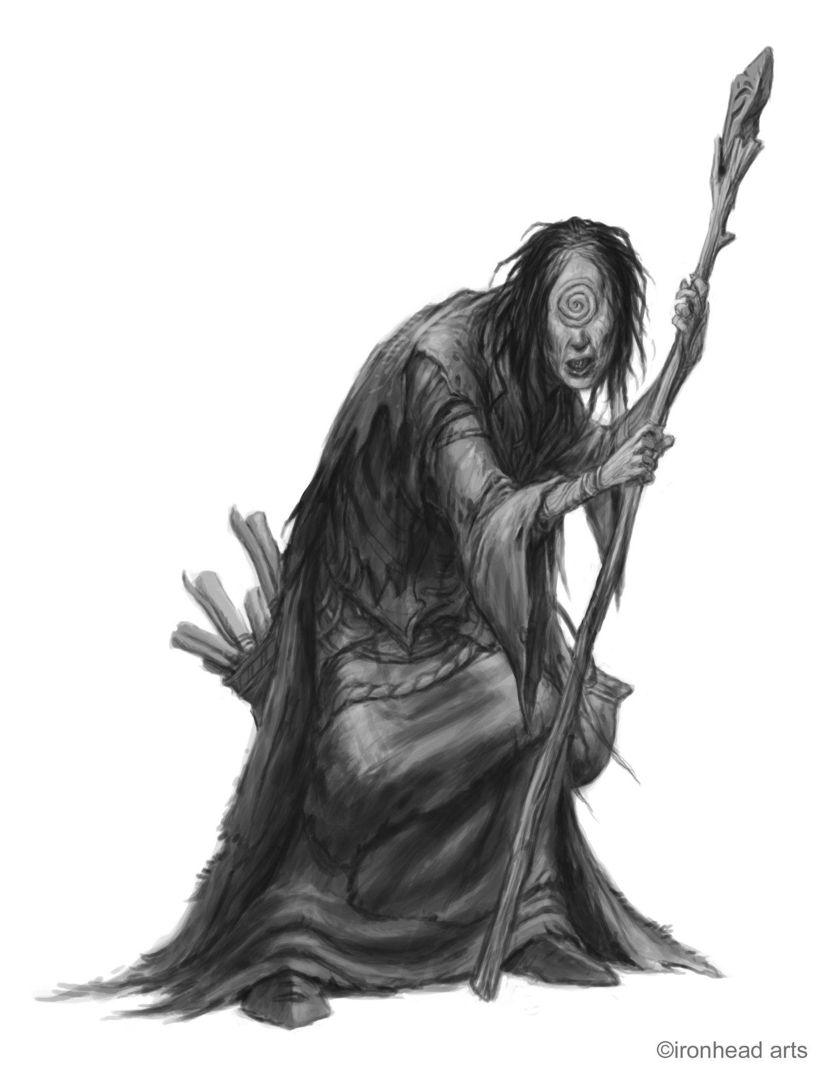 Maebyn Witch by ~DaveAllsop