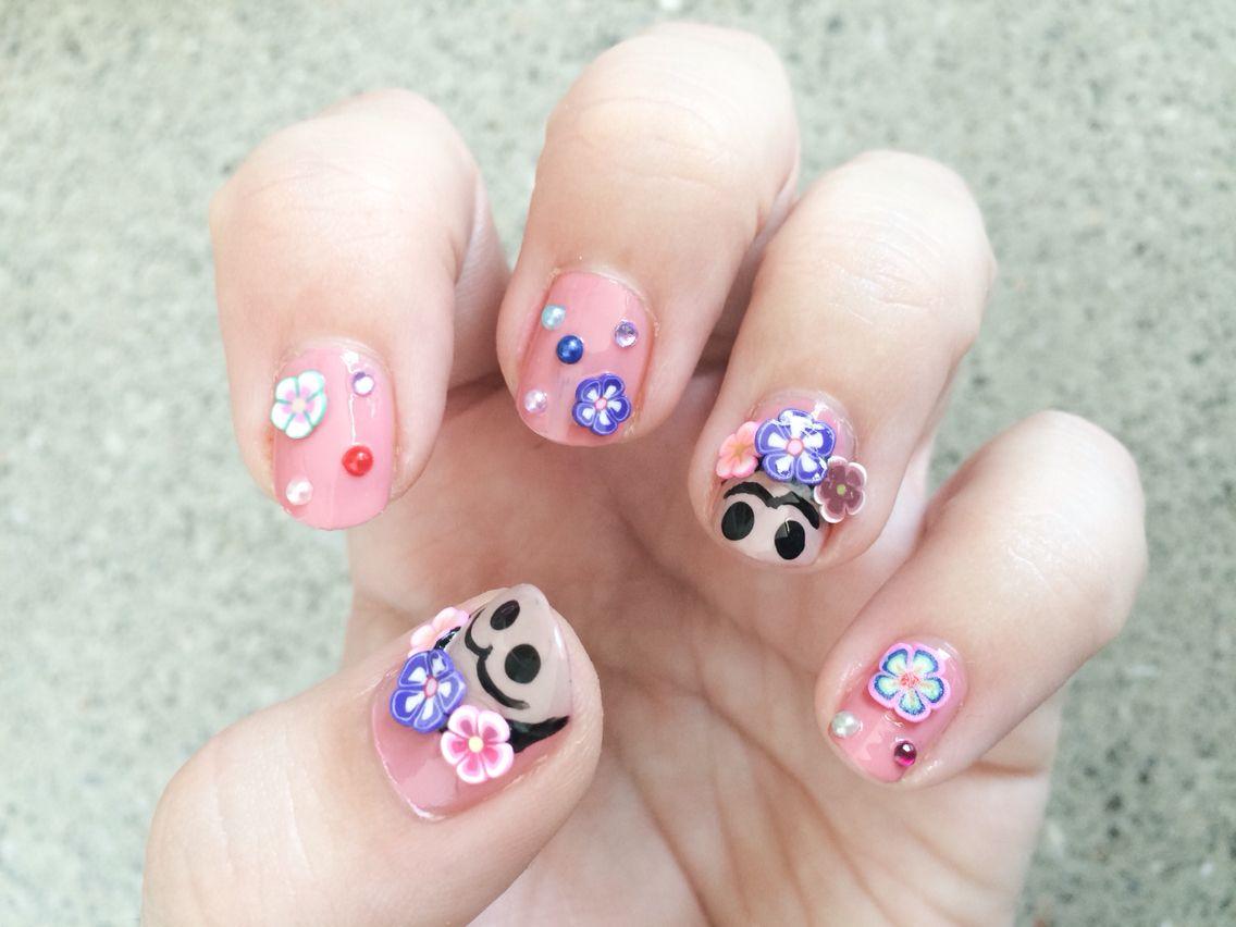 Frida kahlo nails 💅🏻🌺   hair & nails   Pinterest   Diseños de ...