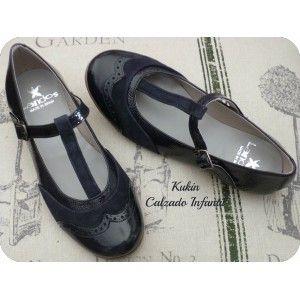 Zapatos niña - Merceditas Landos - calzado infantil