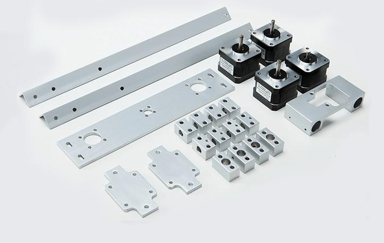 HD 3D printer image aluminum