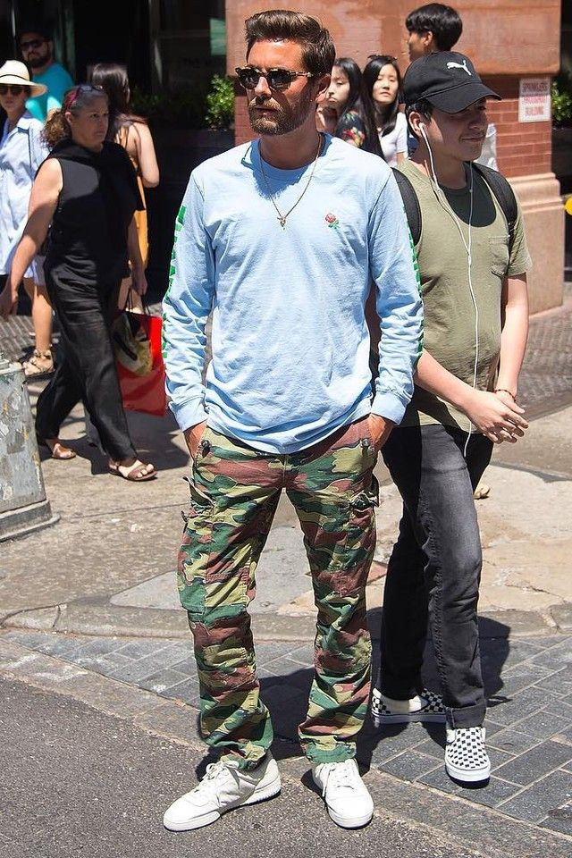 1caad40d8c6 Scott Disick wearing Adidas Adidas Yeezy Calabasas Powerphase