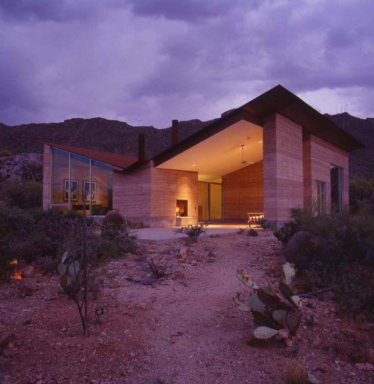 Tucson Mountain House Earth Homes Rammed Earth Homes Rammed Earth