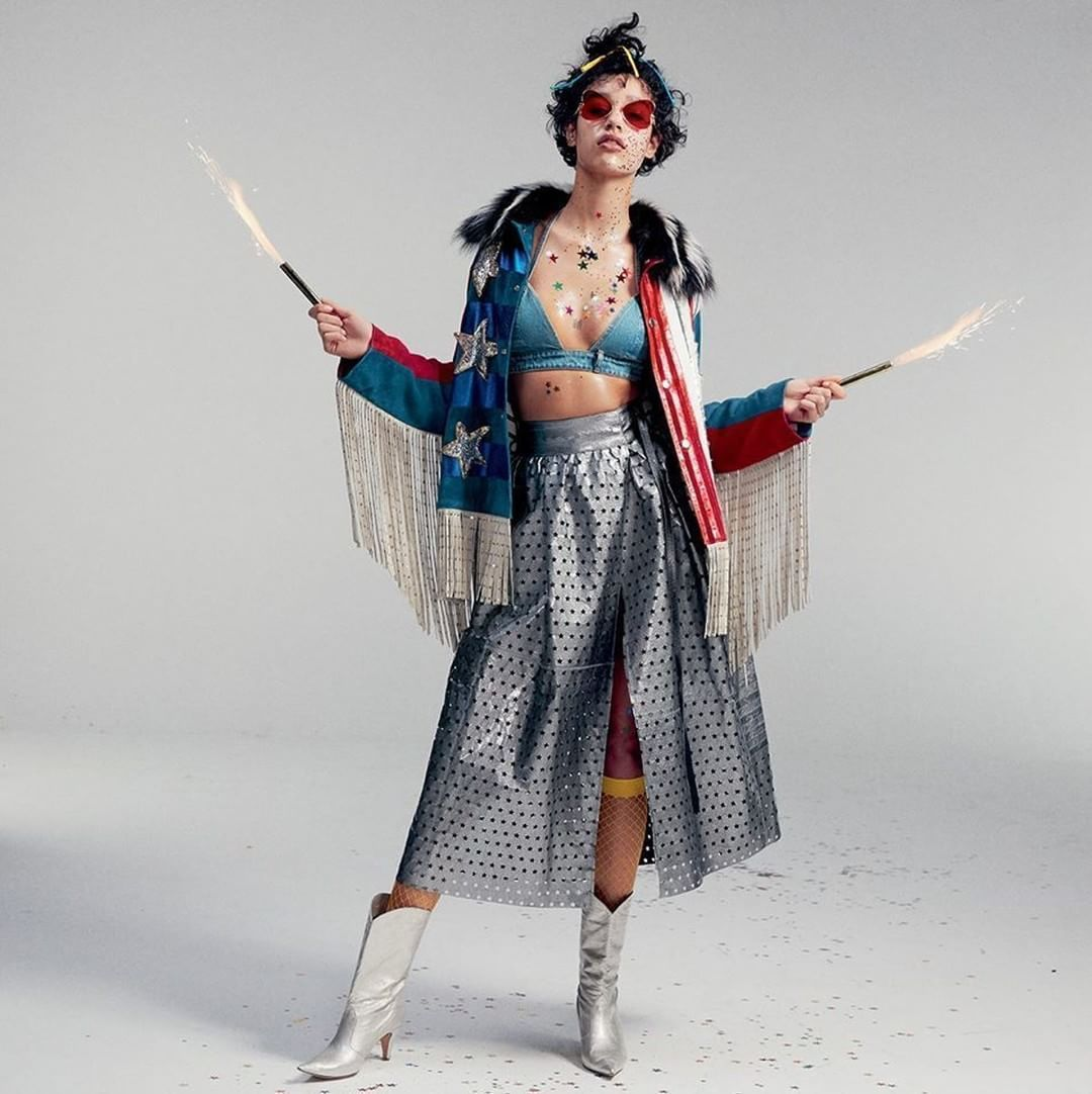 Damaris Goddrie wearing Marc Jacobs Spring '16. Shot by Benjamin Lennox for Magazine Antidote SS 2016