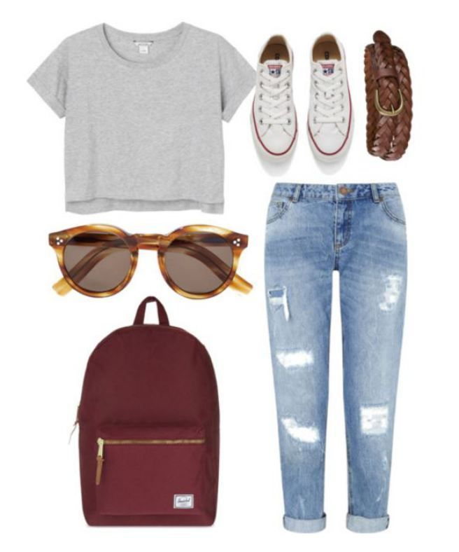 20 First Day Of School Outfit Ideas For College Girls - Society19